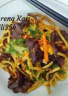 Mie goreng Kari (recook)