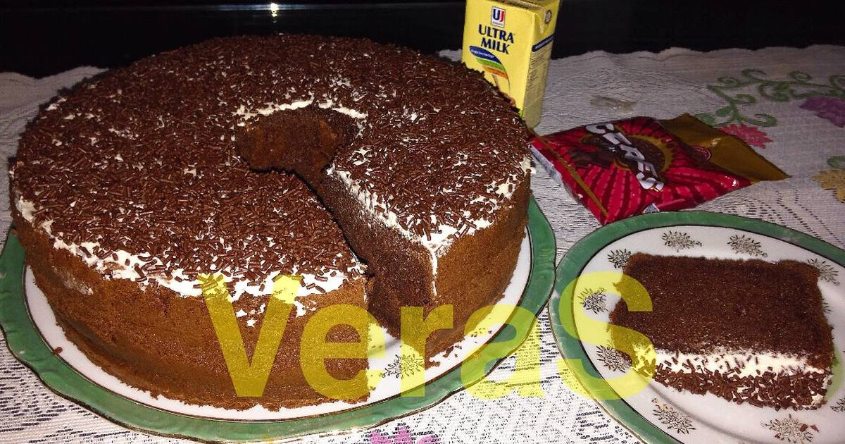 Resep DCC Chiffon Cake