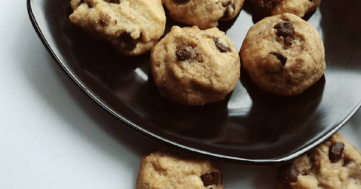 Resep Oatmeal chocochips cookies