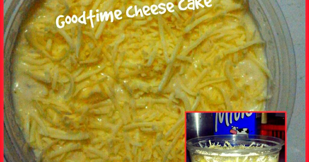 Resep Goodtime Cheese Cake