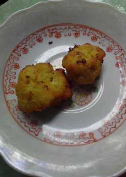 Ayam goreng daging cincang (mpasi 1y+)