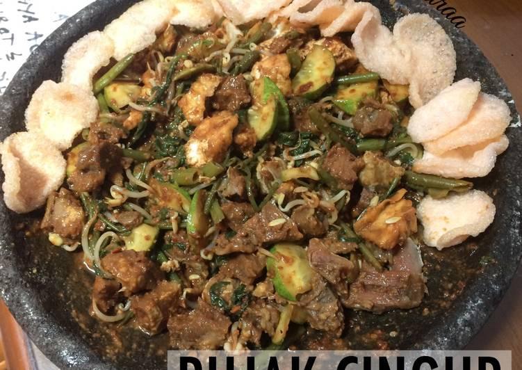 Resep Rujak Cingur Oleh Selly Mutiara Restika Cookpad