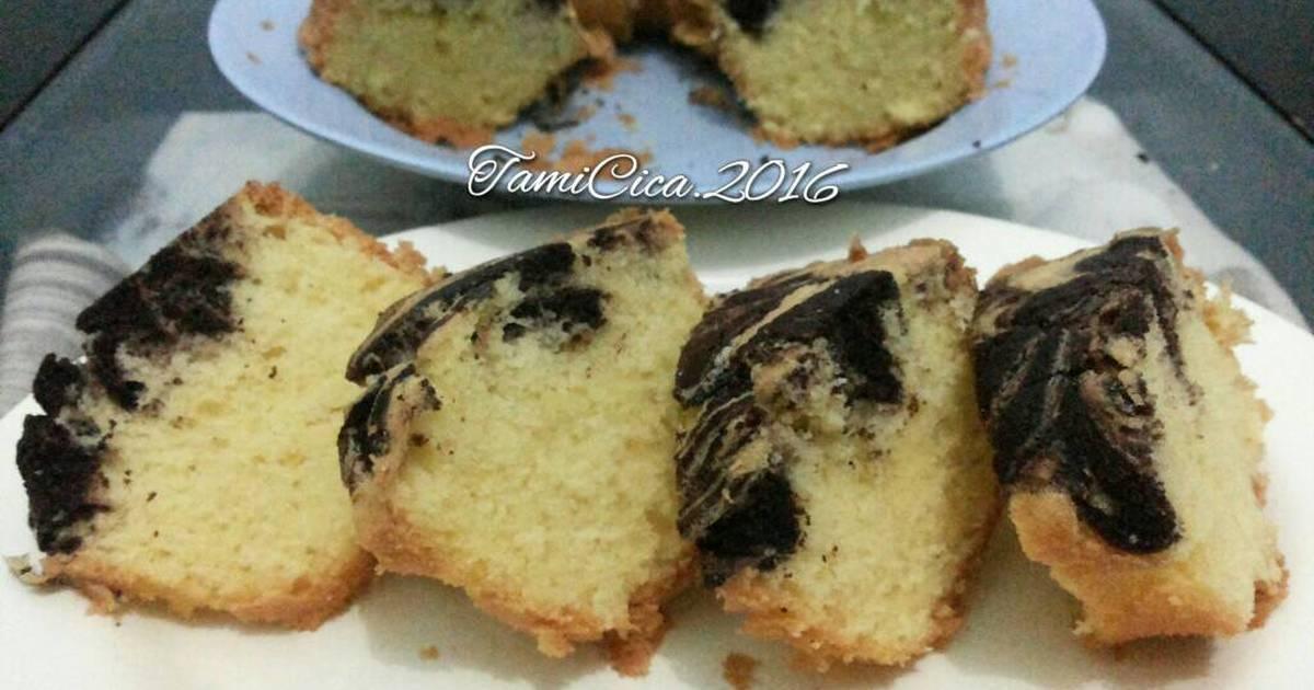 Resep Marble Cake Irit Telur