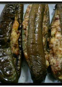 Terong 🍆 Bakar Saus Daging Bolognese