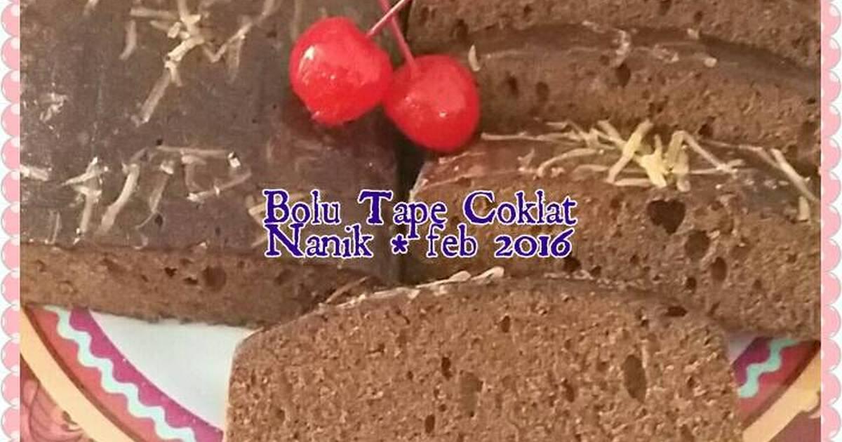 Resep Bolu Tape Coklat