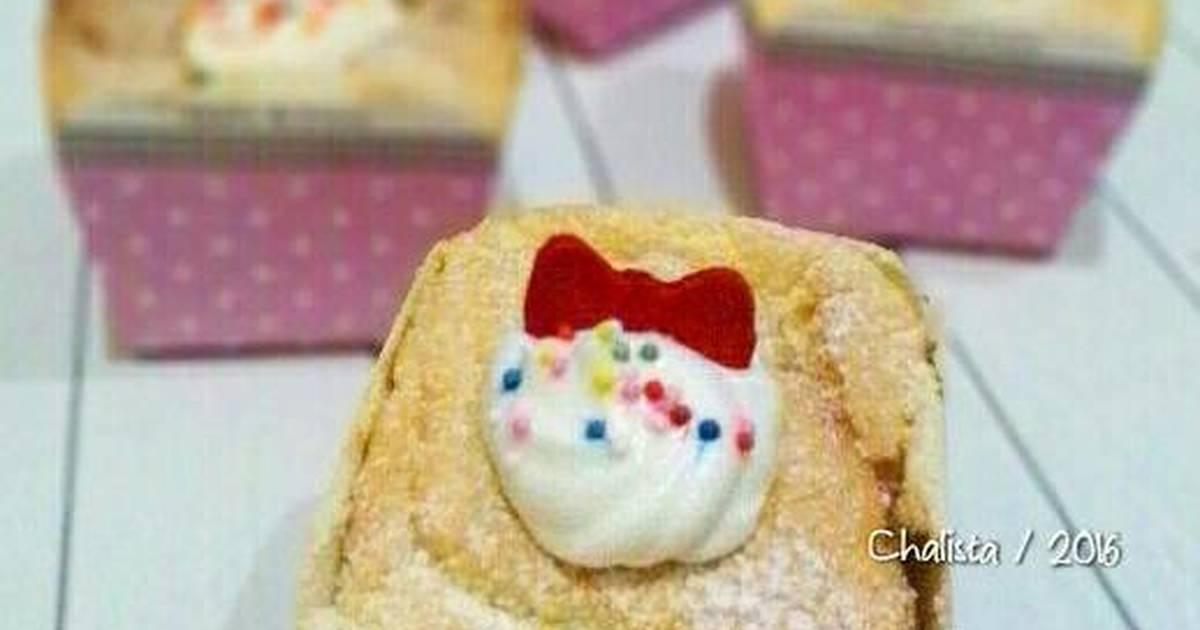 Resep Hokkaido Chiffon Cupcake