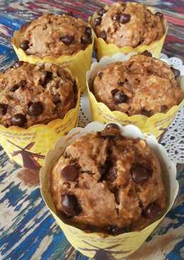 Muffin Apel Choco Chip
