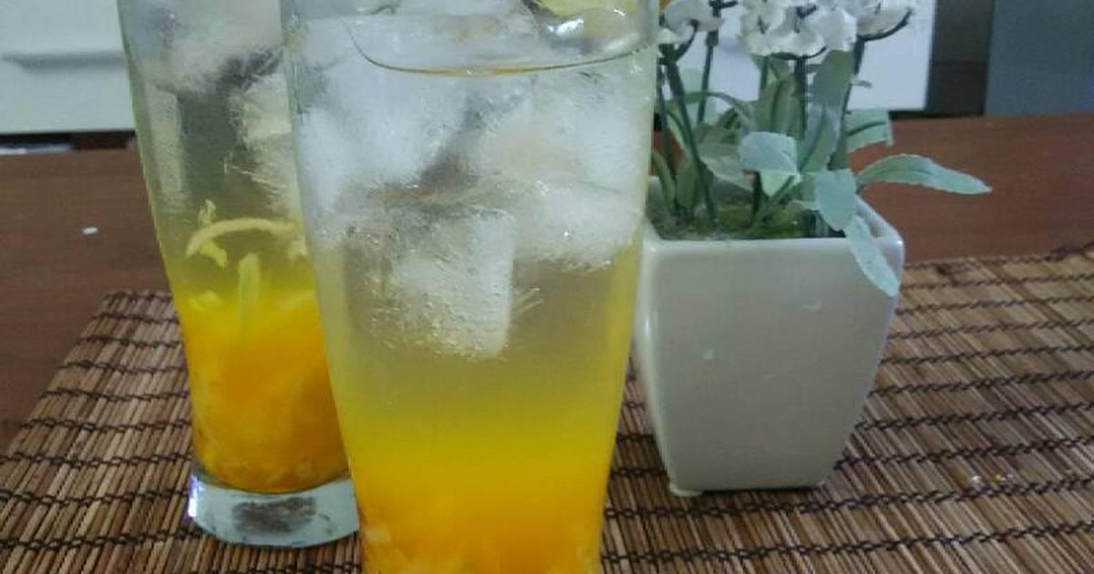 Resep Cucumber Orange Squash (es timun jeruk)
