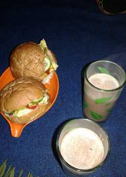 Homemade Burger (isi telur)