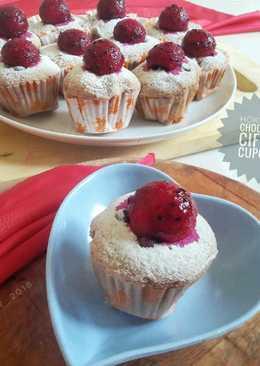 Hokkaido chocolate ciffon cupcakes ala kadar😆#pr_anekaciffon
