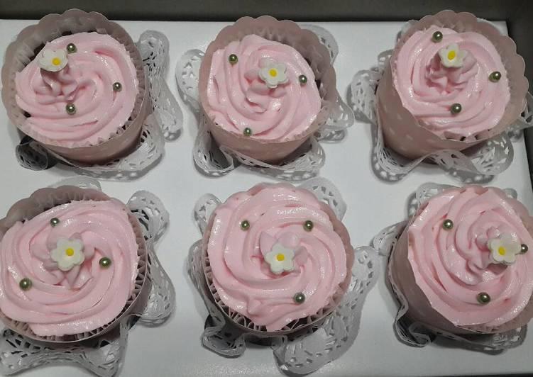 gambar untuk cara membuat Triple Chocolate Cupcake