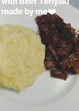 Beef Teriyaki with Mashed Potato