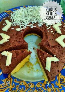 Brownis Kukus Keju + Coklat