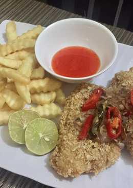 Dori / Kakap fillet sambal sereh with Oat ala restaurant