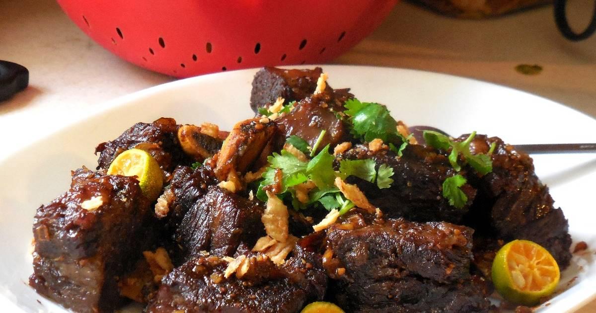 19 resep panggang daging sapi empuk tanpa bumbu rib enak ...