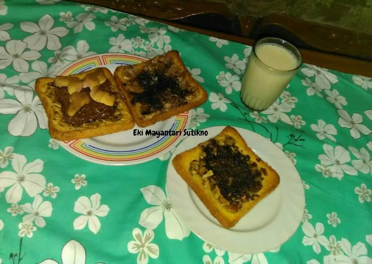 Resep Roti Pisang Varian Rasa #Indonesia Memasak - Eki Mayantari Sutikno