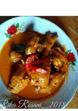 Gulai Ayam ala R.M Padang