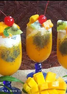 Jus Mangga Jeruk ala King Mango Thai