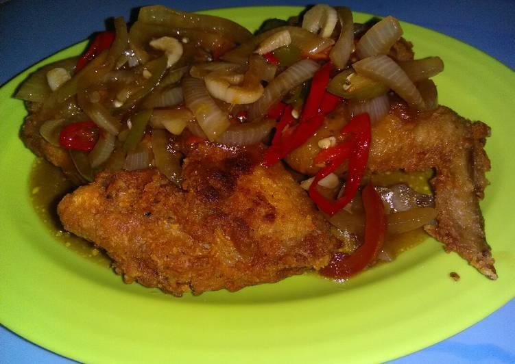 Chicken wings teriyaki