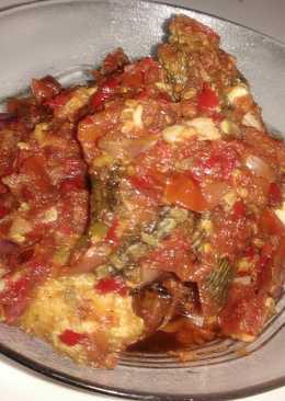 Sambel tomat ikan nila