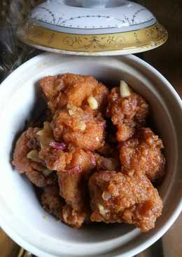 Chicken Karage Saus Asam Manis