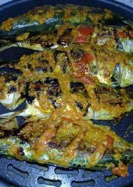 Ikan kembung bakar bumbu sederhana