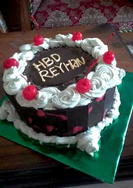 Brownies b'day cake #beranibaking