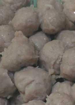 Bakso Sapi Ayam Kenyal dgn blender 👍