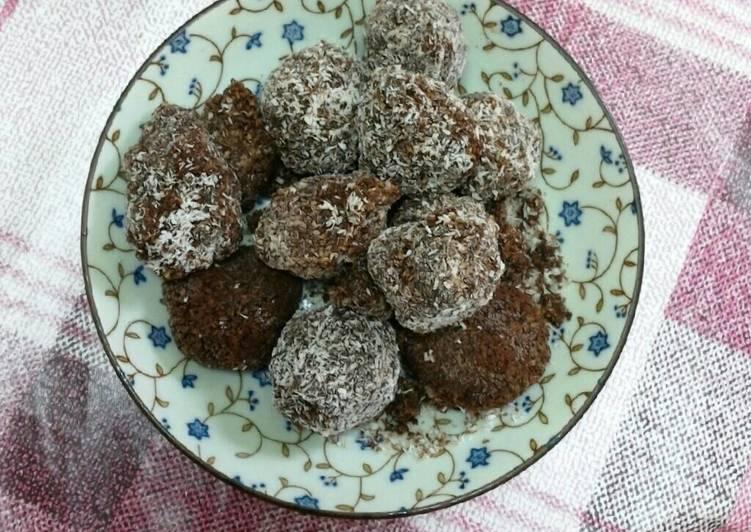 Resep Bola coklat kelapa Kiriman dari Masruroh Siti