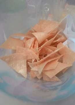 (How to) goreng kulit pangsit