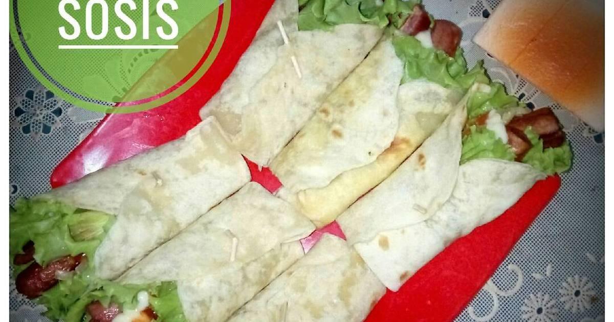 Spanduk Kebab Sosis - gambar contoh banners