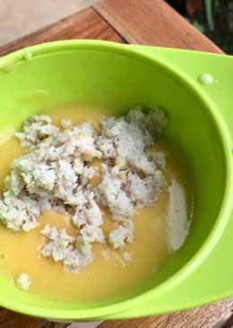 Mpasi 6 bulan butternut squash soup + ikan gabus