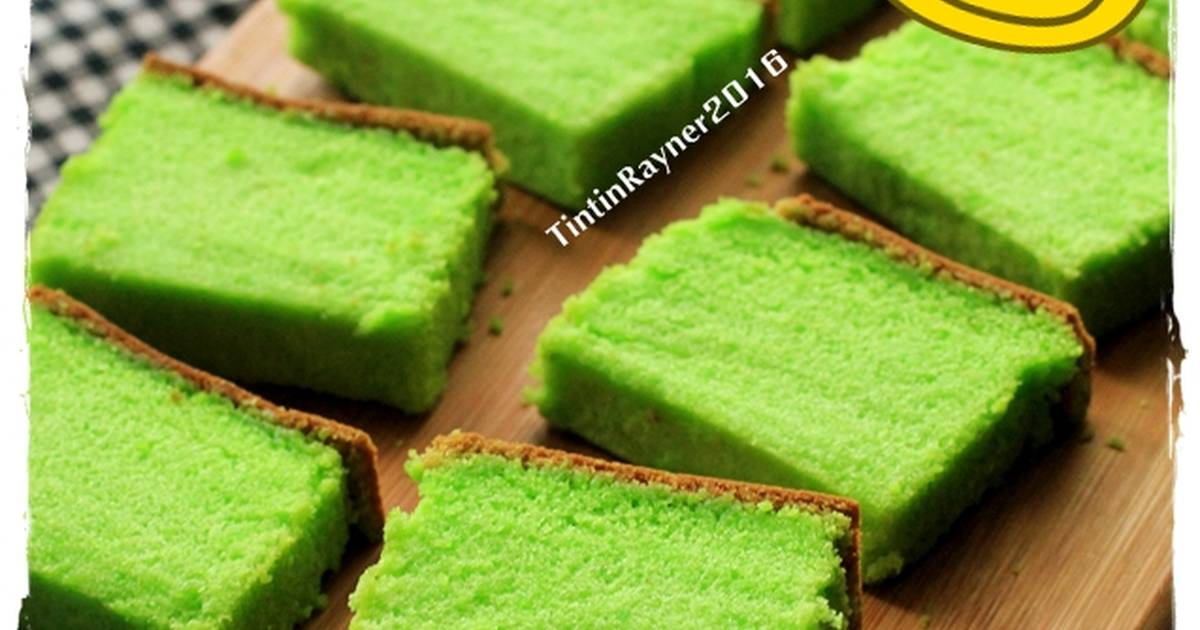 Resep Bolu Jerman Pandan Eba Chan - Kocok All in One+ Tricks
