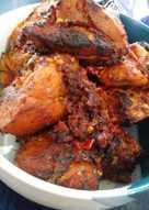 Ayam Goreng balado bakar