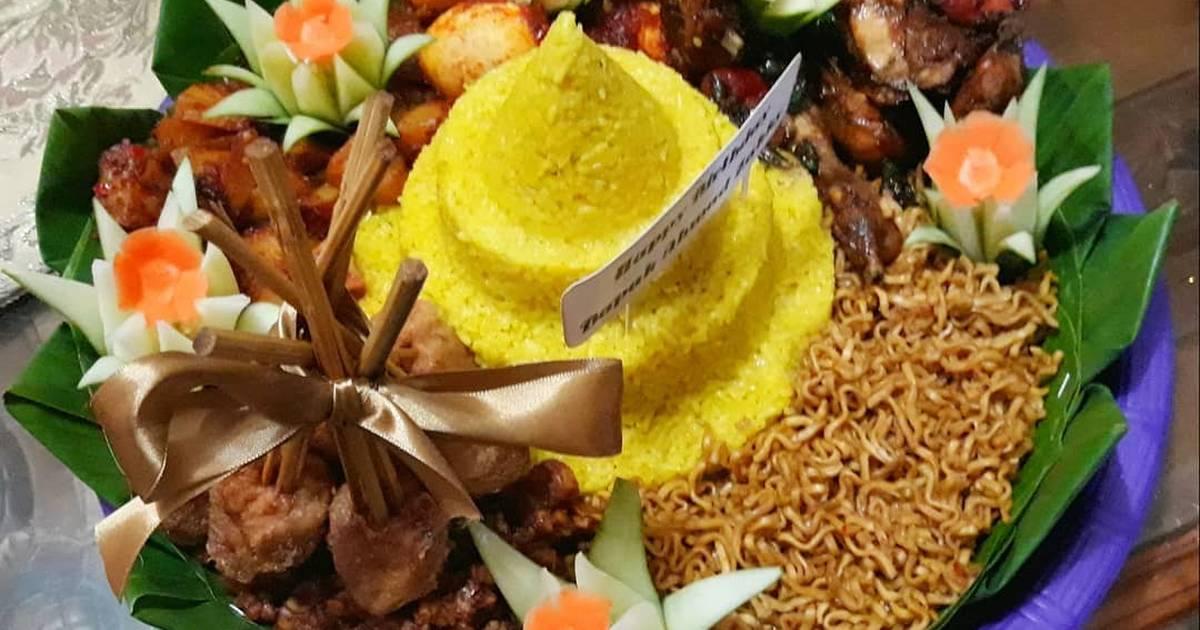 331 Resep Cara Membuat Tumpeng Enak Dan Sederhana Cookpad