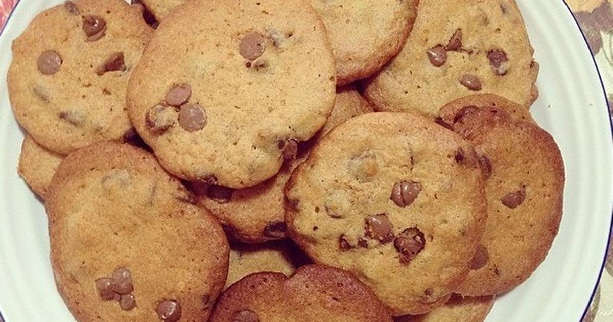 Resep Chewy Chocolate Chip Cookies