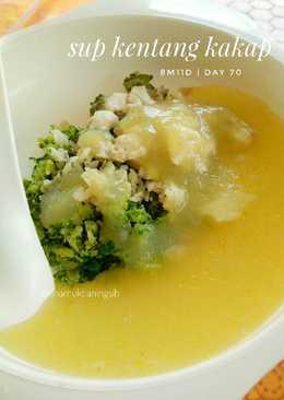 Mpasi sup kentang brokoli