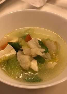 Sup Dori Tofu Sayuran untuk Anak