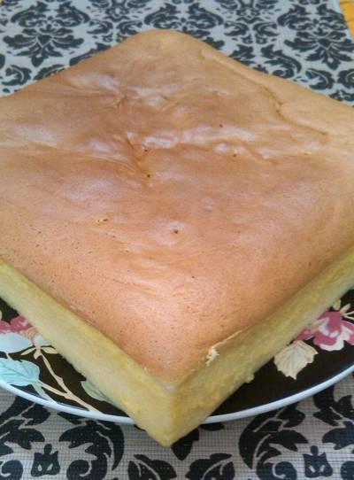 Japanese cotton cheese cake (no cream cheese) #beranibaking