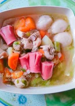 SUP Ayam Bakso Sosis