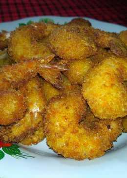Udang goreng tempura paling simple