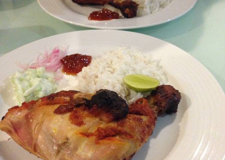 Ayam Tandoori Indian Food