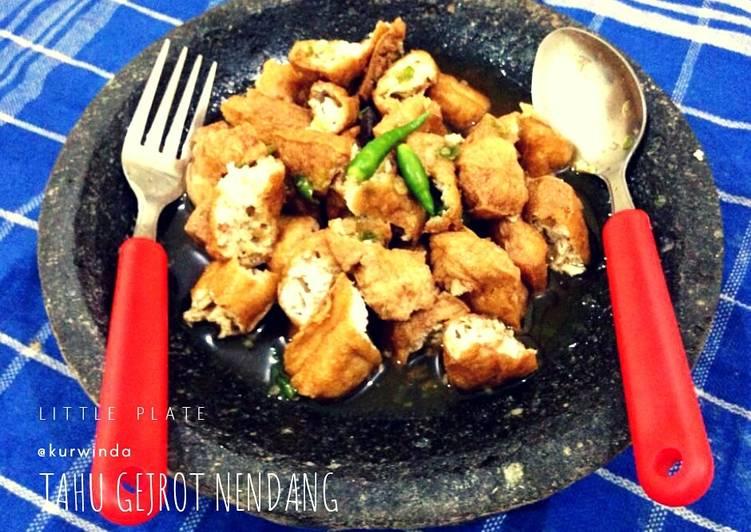 Resep Tahu Gejrot Oleh Little Plate Kurwinda Kristi Cookpad