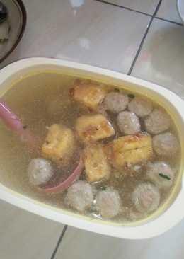 Kuah Bakso Homemade