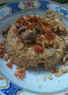 Nasi kebuli kari ayam