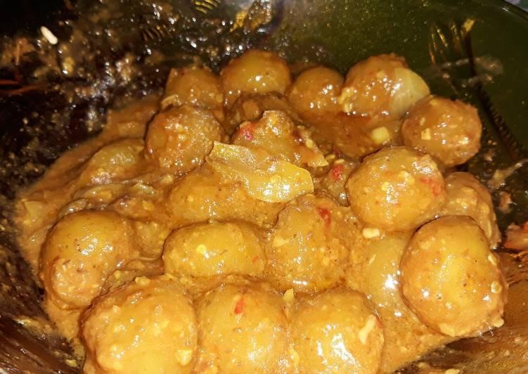 Resep Cilok Ayam Bumbu Kacang Pedastteokbokki Nya Orang