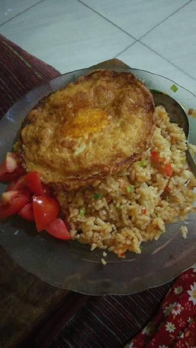 Nasi Goreng Lalap Tomat #BikinRamadanBerkesan