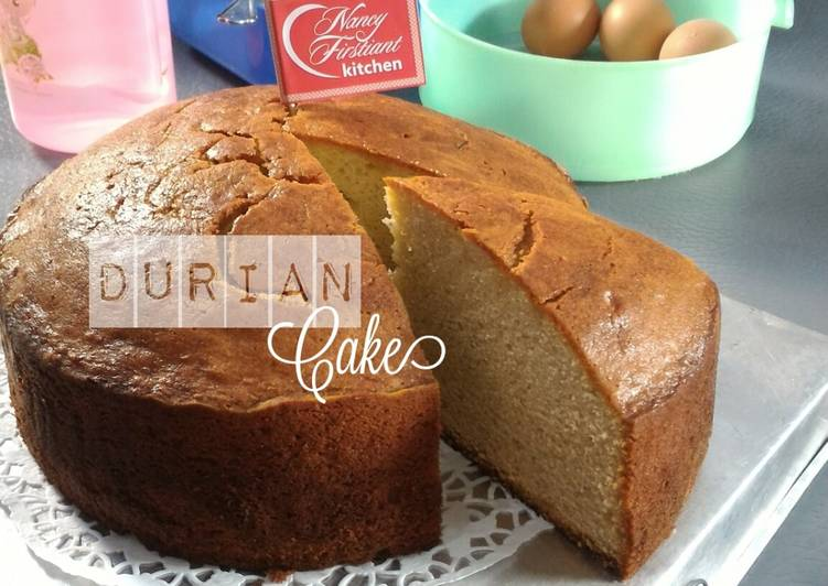 Resep Cake Kukus Durian: Resep Durian Cake Oleh Nancy Firstiant's Kitchen