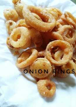 Onion Rings (Simple, Tanpa tepung panir)