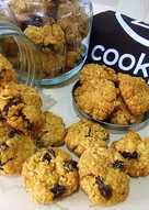 Cookies Oatmeal (Renyah, less sugar, healthy, minim bahan)